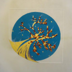 A-LA-LOUPE-panneau-enlumine-Sophie-Theodose-enlumineur-contemporain-PM98